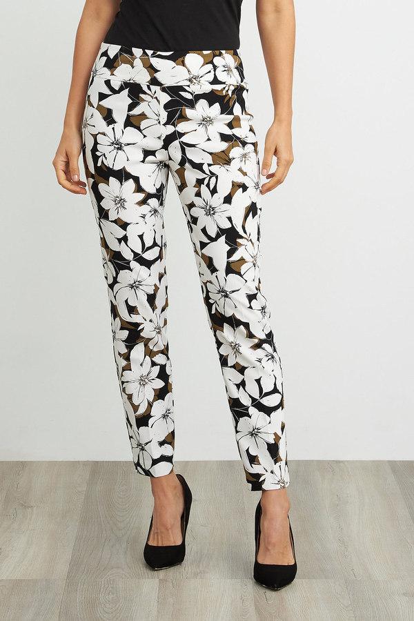 Joseph Ribkoff Tropical Print Pant Style 211390