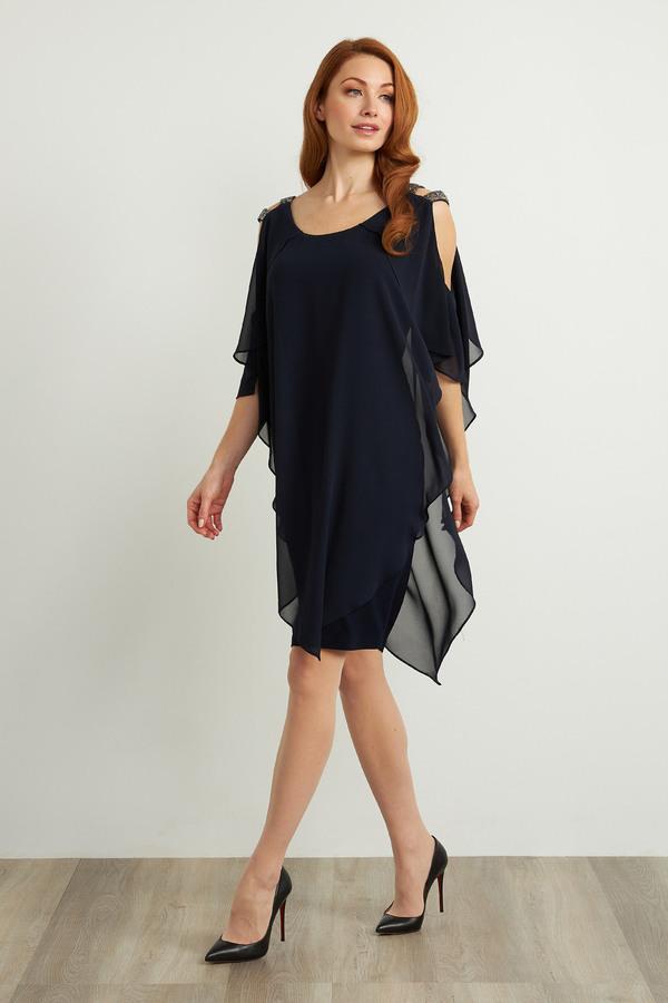 Joseph Ribkoff Robes Bleu Nuit Style 211421