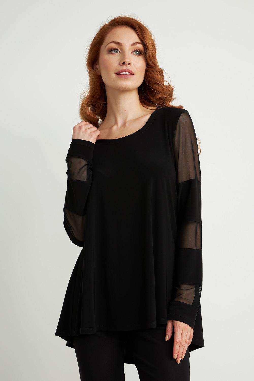 Joseph Ribkoff Black Tunics Style 211429