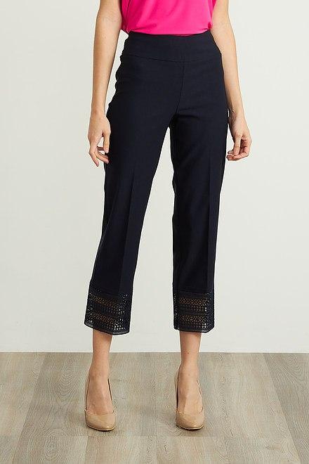 Joseph Ribkoff Pantalons Bleu Nuit Style 211436
