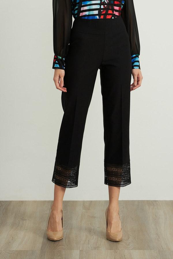 Joseph Ribkoff Pantalons Noir Style 211436