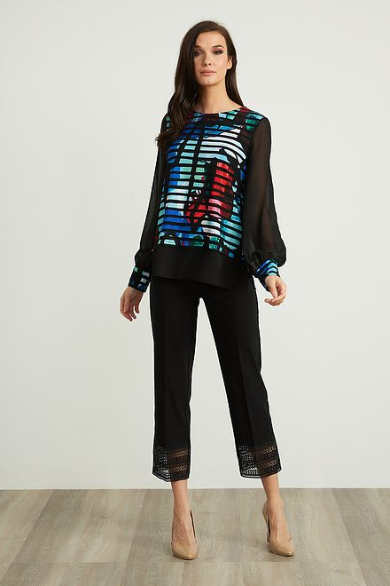 Joseph Ribkoff Black Pants Style 211436