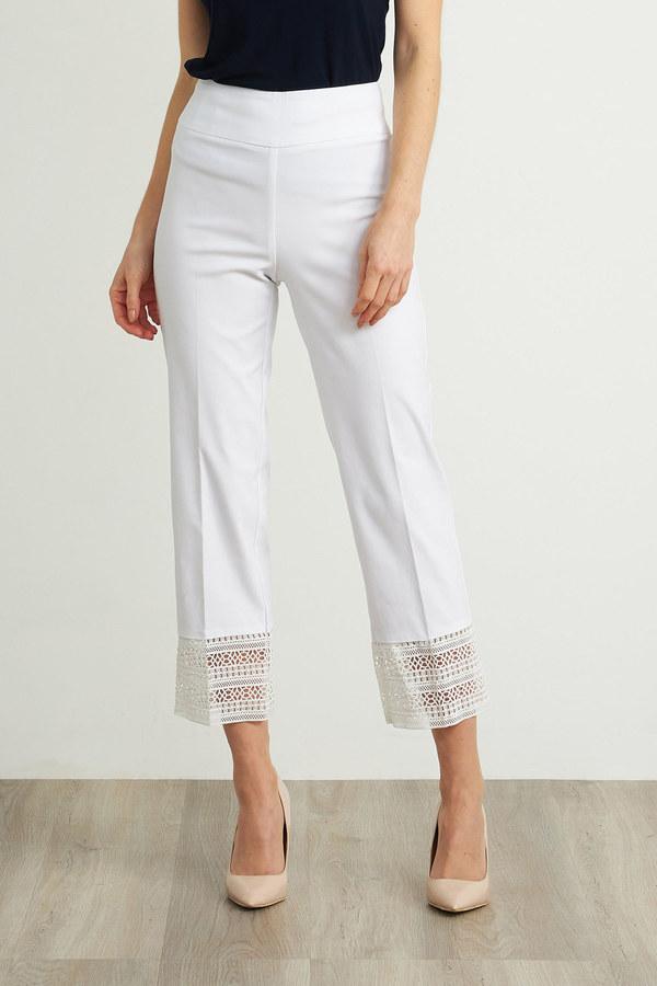 Joseph Ribkoff White Pants Style 211436