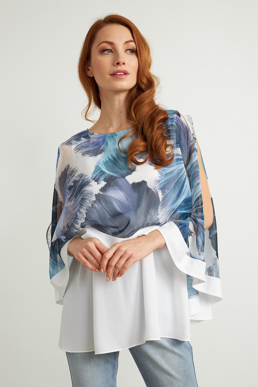 Joseph Ribkoff Tuniques Bleu/Multi Style 211452