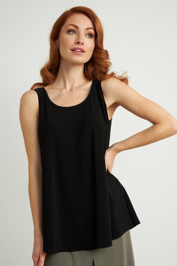 Joseph Ribkoff Tee-shirts et camisoles Noir Style 211455