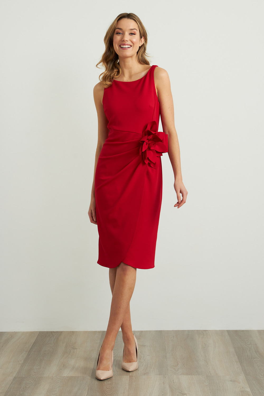Joseph Ribkoff Lipstick Red 173 Dresses Style 211469