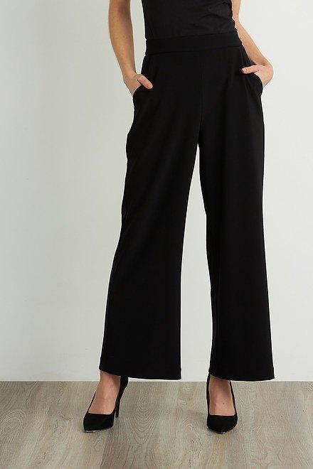 Joseph Ribkoff Pantalons Noir Style 211471