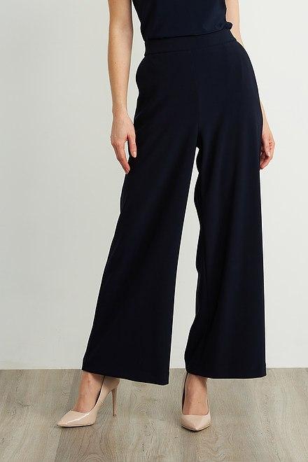 Joseph Ribkoff Pantalons Bleu Nuit Style 211471