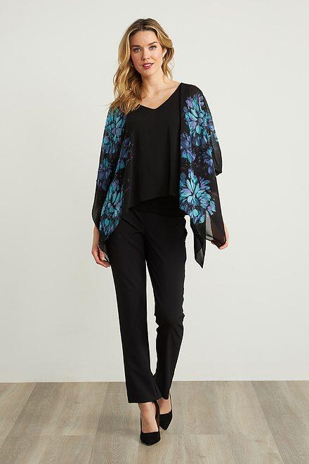 Joseph Ribkoff Black Pants Style 211472