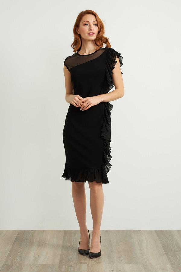 Joseph Ribkoff Robes Noir Style 211476