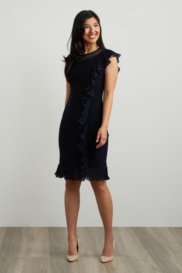 Joseph Ribkoff Midnight Blue Dresses Style 211476