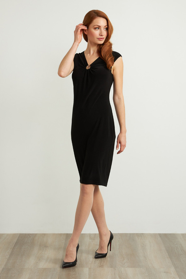 Joseph Ribkoff Robes Noir Style 211477