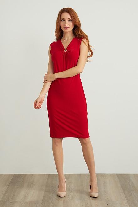 Joseph Ribkoff Hardware Detail Dress Style 211477