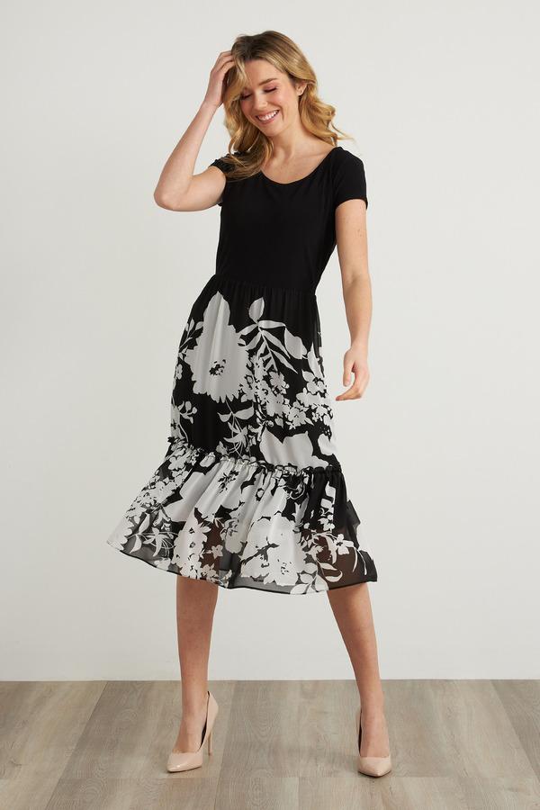 Joseph Ribkoff Black/White Dresses Style 211485