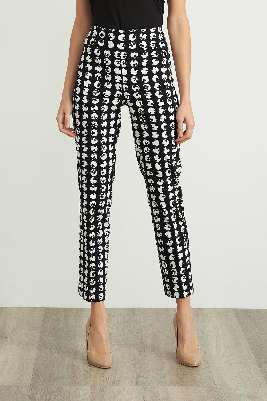 Joseph Ribkoff Pantalons Noir/Blanc Style 211486