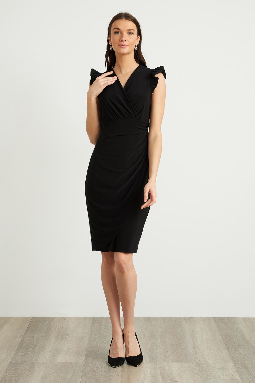 Joseph Ribkoff Black Dresses Style 211491