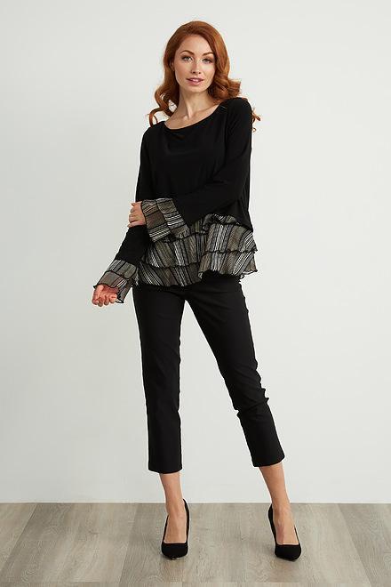 Joseph Ribkoff Black Pants Style 211493