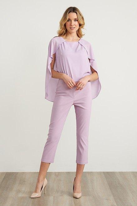 Joseph Ribkoff Pantalons Doux Lilas Style 211493