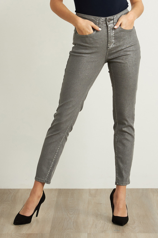 Joseph Ribkoff Jeans Gris Moyen Style 211906
