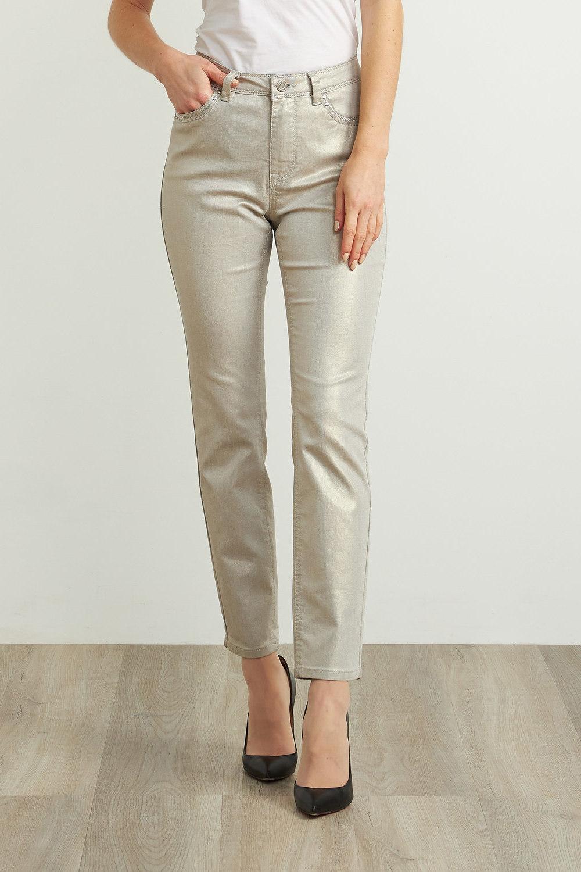 Joseph Ribkoff Jeans Doré Pale Style 211913