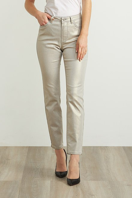 Joseph Ribkoff Metallic Pants Style 211913