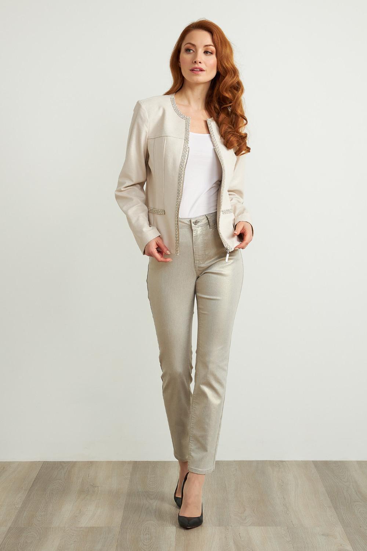 Joseph Ribkoff Light Gold Jeans Style 211913