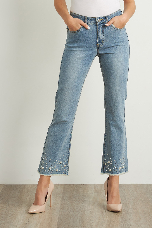 Joseph Ribkoff LIGHT BLUE DENIM Jeans Style 211921