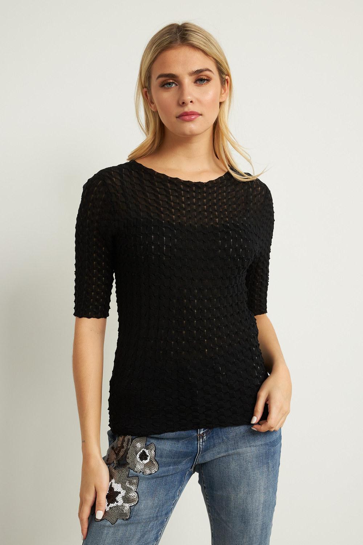 Joseph Ribkoff Tee-shirts et camisoles Noir Style 211928