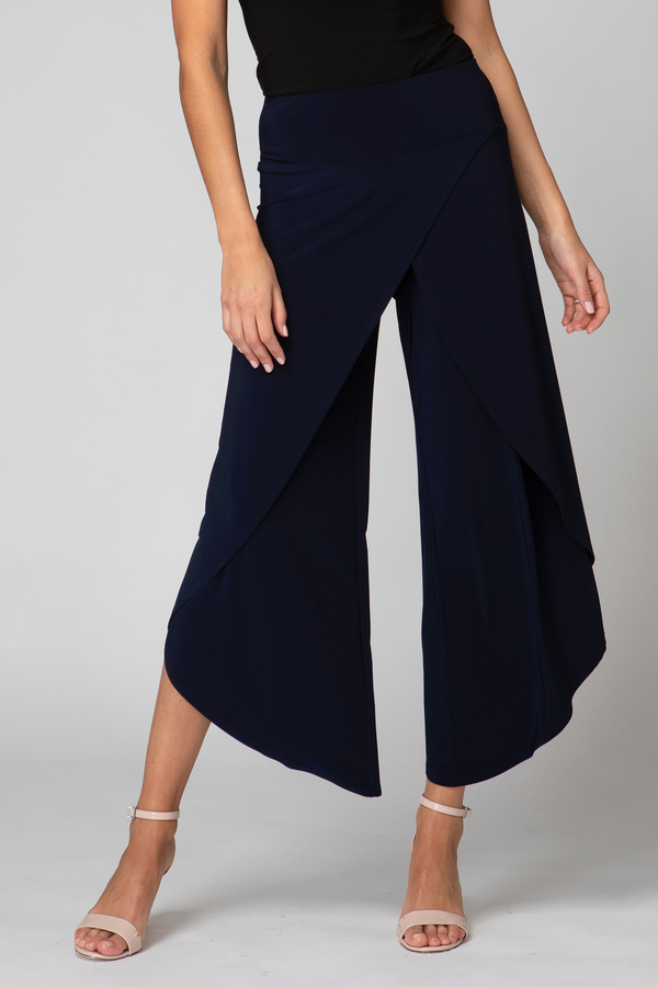 Joseph Ribkoff Pantalons Bleu Minuit 40 Style 211494
