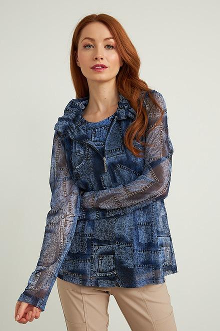 Joseph Ribkoff Chemises et blouses Bleu Style 212002