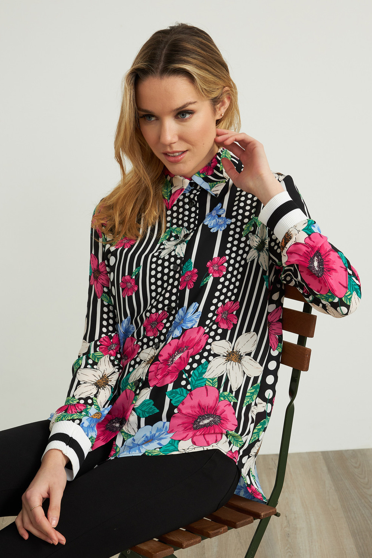 Joseph Ribkoff Chemises et blouses Noir/Multi Style 212003