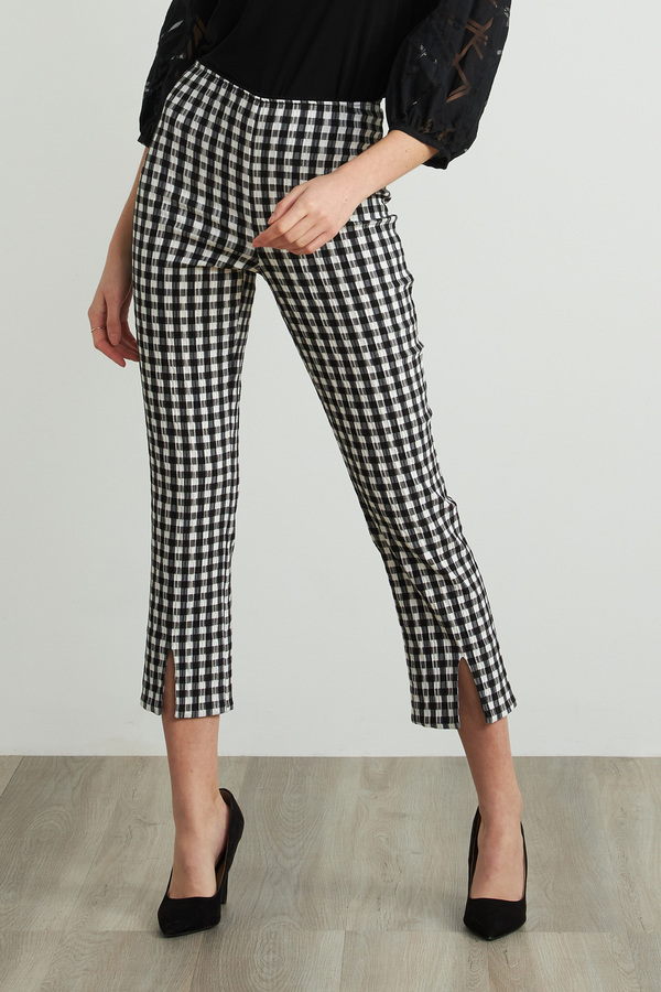 Joseph Ribkoff Pantalons Noir/Blanc Style 212008