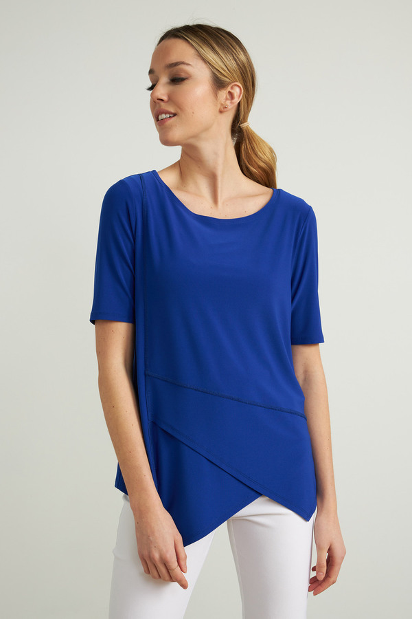 Joseph Ribkoff Tee-shirts et camisoles Saphir Royal 163 Style 212023