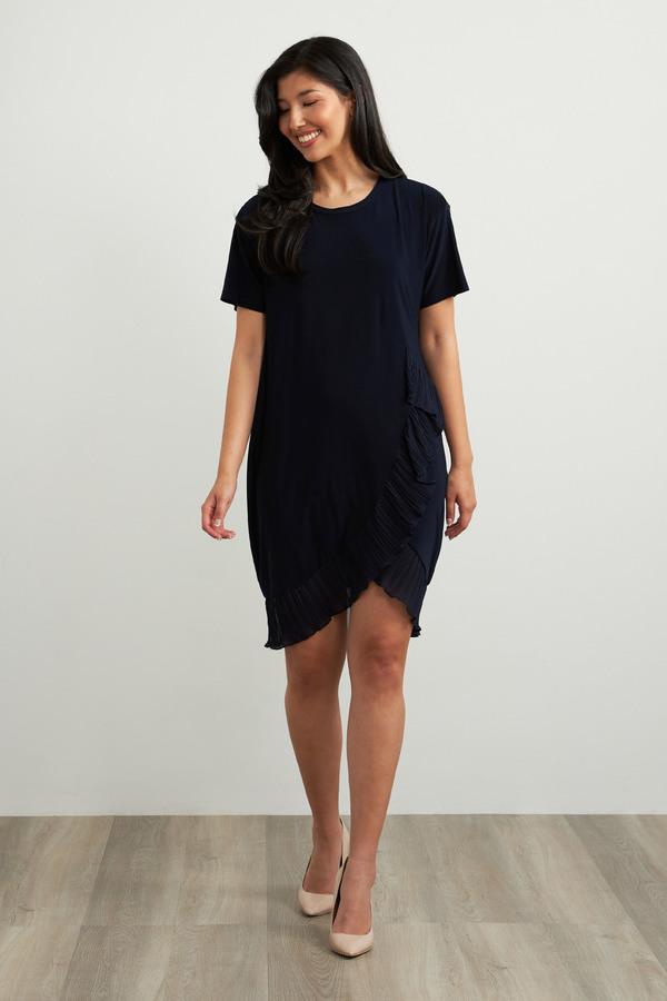 Joseph Ribkoff Robes Bleu Nuit Style 212026