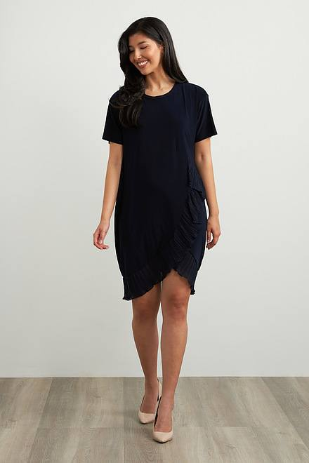 Joseph Ribkoff Frilled Dress Style 212026