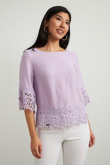 Joseph Ribkoff Chemises et blouses Doux Lilas Style 212033