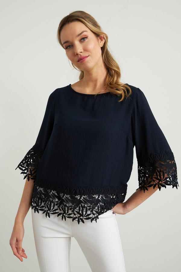 Joseph Ribkoff Chemises et blouses Bleu Nuit Style 212033