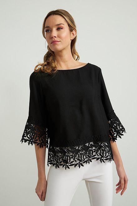 Joseph Ribkoff Chemises et blouses Noir Style 212033