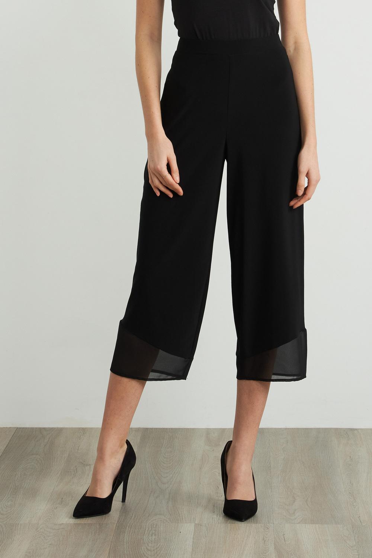 Joseph Ribkoff Black Pants Style 212036