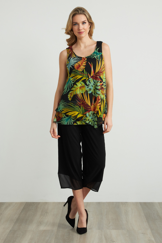 Joseph Ribkoff Pantalons Noir Style 212036