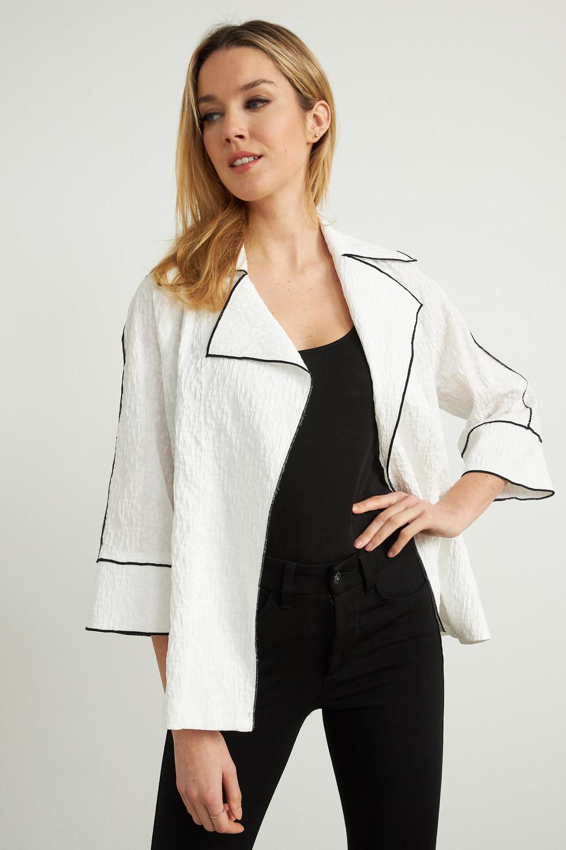 Joseph Ribkoff Vestes Blanc Style 212045