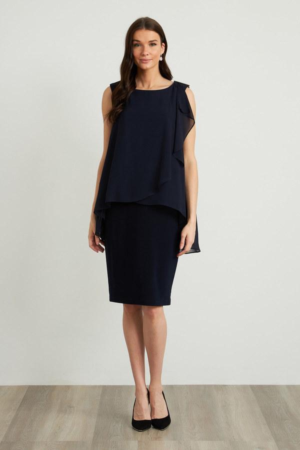 Joseph Ribkoff Robes Bleu Nuit Style 212057
