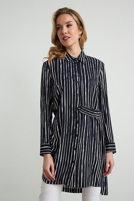 Joseph Ribkoff Striped Tunic Style 212082