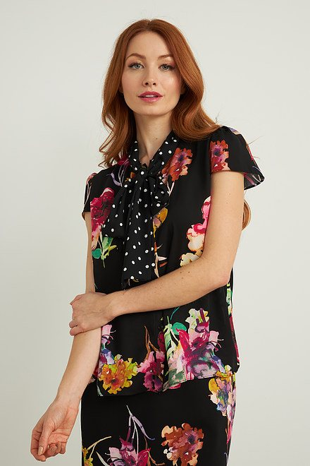Joseph Ribkoff Chemises et blouses Noir/Multi Style 212091
