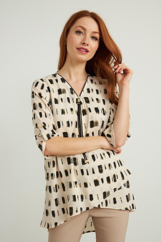 Joseph Ribkoff Chemises et blouses Noir/Ecru Style 212092