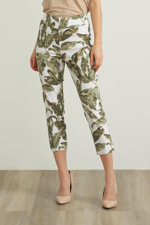 Joseph Ribkoff Pantalons Blanc/Multi Style 212116