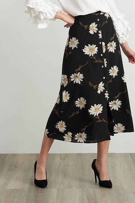 Joseph Ribkoff Daisy Print Skirt Style 212127
