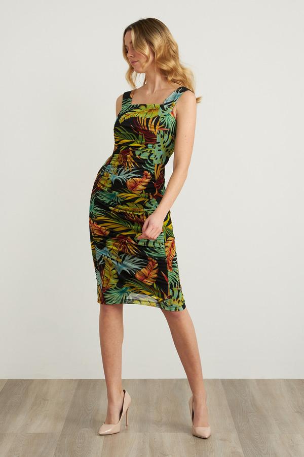 Joseph Ribkoff Tropical Print Dress Style 212128