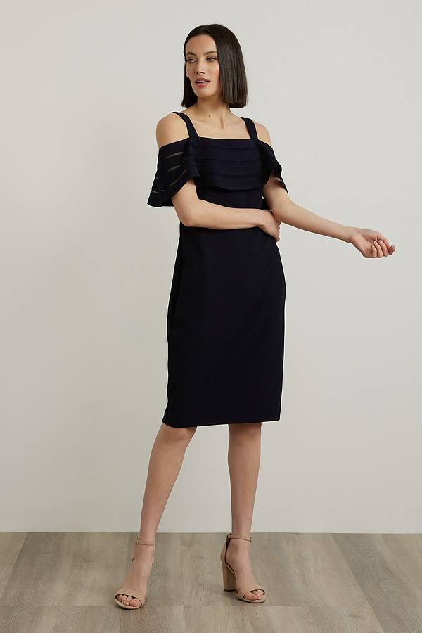 Joseph Ribkoff Robes Bleu Nuit Style 212147