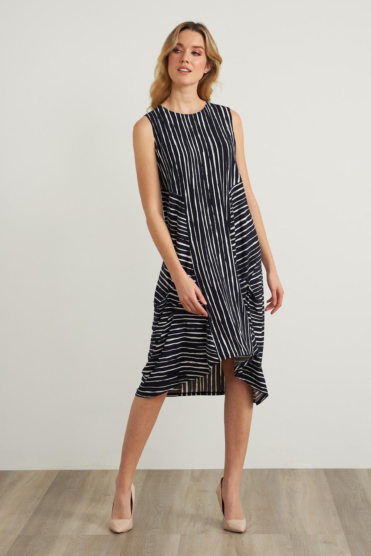 Joseph Ribkoff Midnight Blue/White Dresses Style 212152